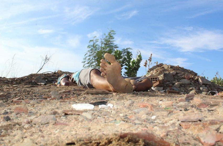 Corpo crivado de balas é encontrado em estrada carroçável