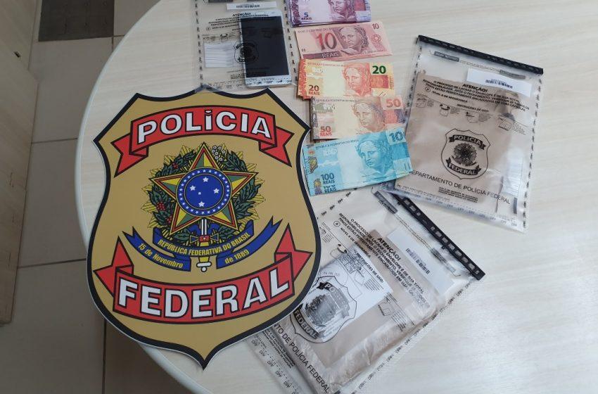 PF prende homem com quase R$ 1 mil em cédulas falsas em Natal