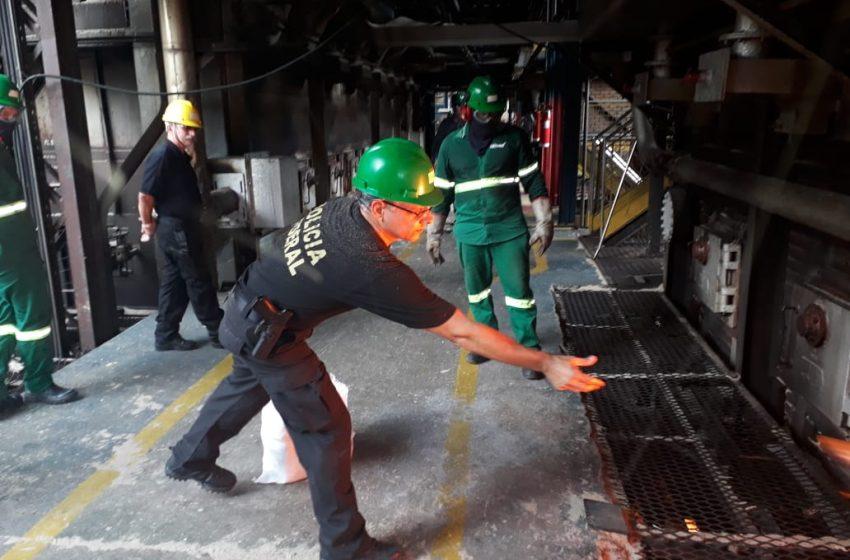 Polícia Federal incinera mais de uma tonelada de cocaína no RN
