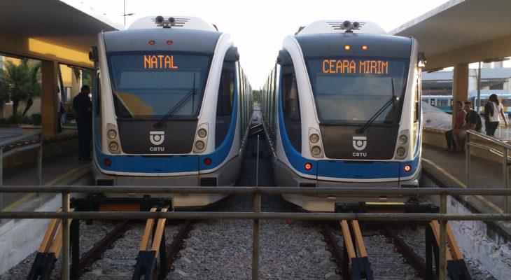 Sistema de trens de Natal terá novo reajuste de tarifa no domingo