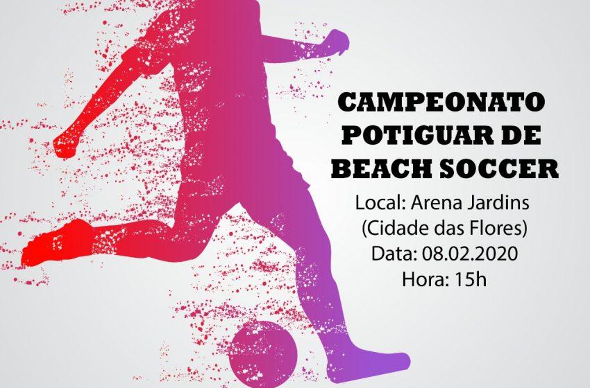 São Gonçalo do Amarante sedia Campeonato Potiguar de Beach Soccer