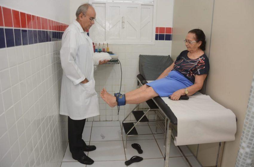 Unidades de Saúde do município recebem melhorias durante atividades do programa Prefeitura em Movimento
