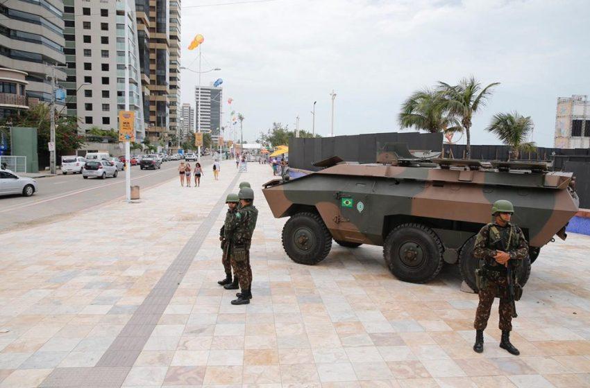 Após chamar PMs de Fortaleza de 'vagabundos', soldado da Marinha é afastado de operação e enviado de volta a Natal