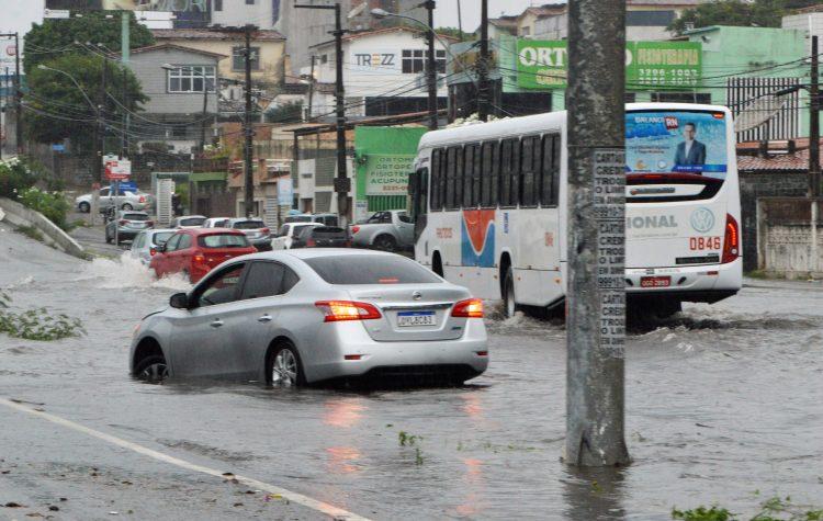 Natal entra em estado de emergência por causa das chuvas