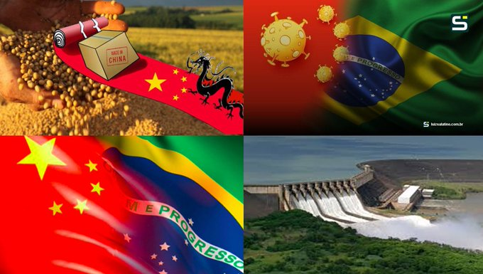 O comunismo querendo dominar o mundo, xô chinavírus