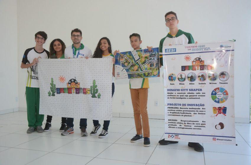 Alunos de São Gonçalo participam de torneio de robótica em São Paulo