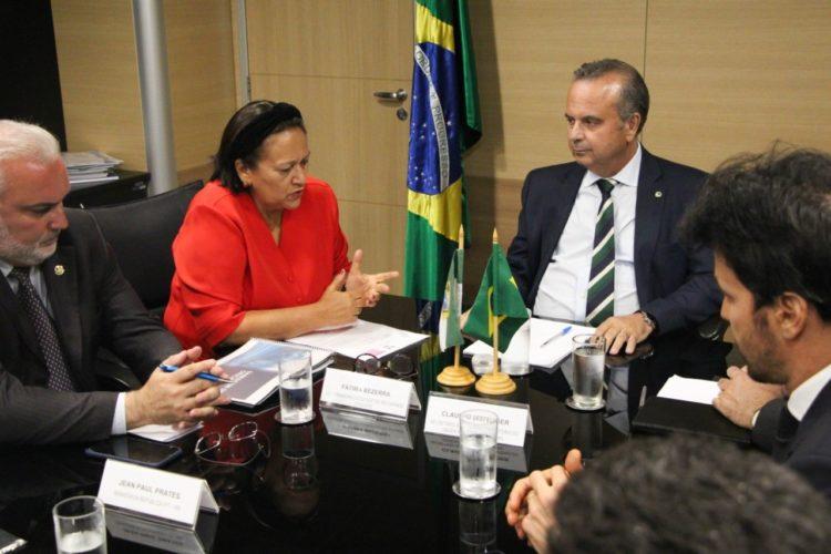 Em Brasília, Fátima trata continuidade de parcerias com ministro do Desenvolvimento