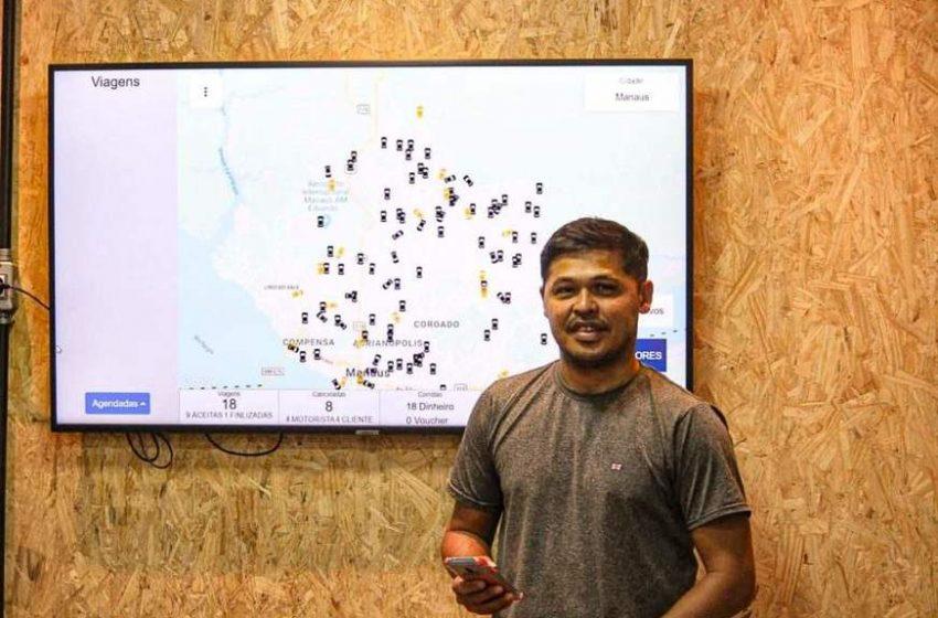 Amazonense cria aplicativo de mobilidade que concorrerá com Uber e 99
