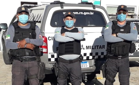 COVID-19: Polícia Militar recebe 15 mil máscaras do Governo do RN