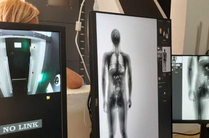 Oito presídios recebem aparelhos de scanner corporal