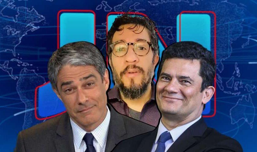 """Ex-Globo, Wyllys diz que JN apresenta Moro como """"santo"""""""