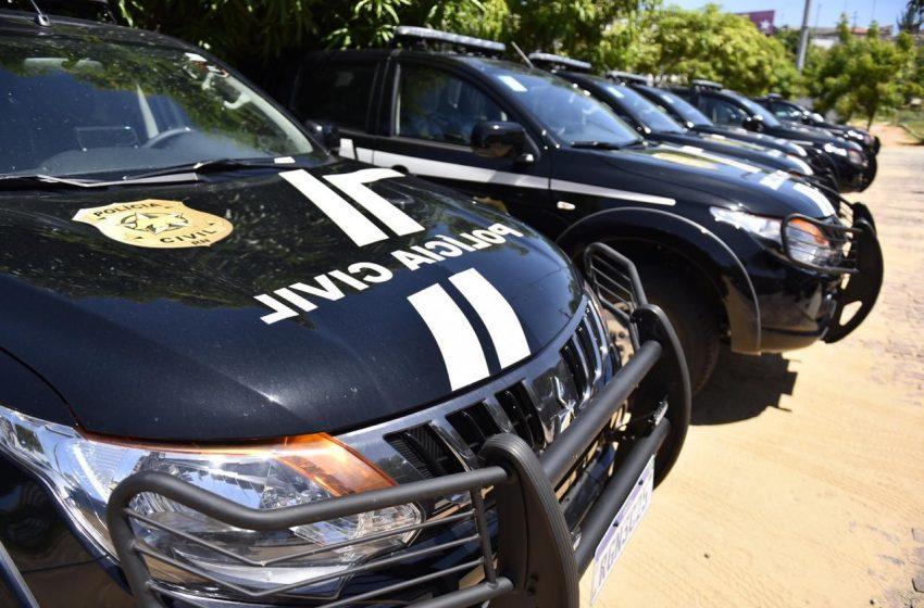 Sesed entrega novas viaturas para a Polícia Civil