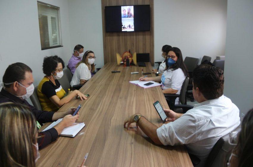 Covid-19: Estado e Município discutem instalação do Hospital de Campanha de São Gonçalo