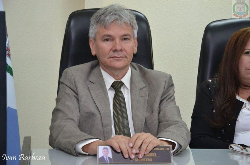 O Vereador Pr. Edmilson Gomes é um dos mais atuantes em São Gonçalo do Amarante