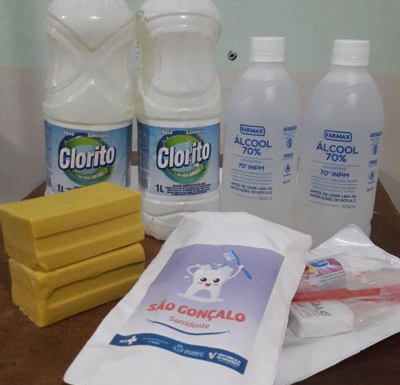 Prefeitura vai distribuir 15 mil kits de higiene às famílias em vulnerabilidade social