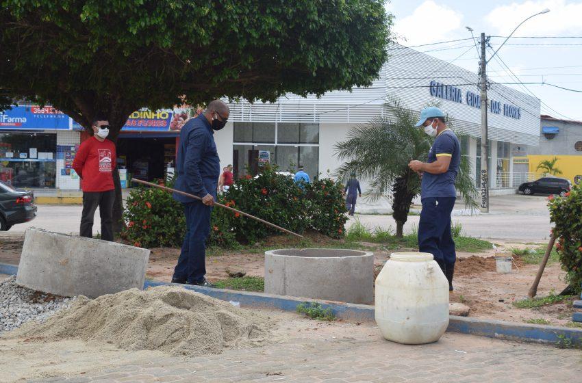 Prefeitura de São Gonçalo instala lavatórios para combater a Covid-19 no Bairro Jardins