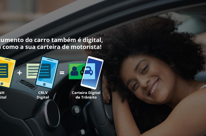 DETRAN – Documento do Veículo (CRLV) digital está disponível no Rio Grande do Norte