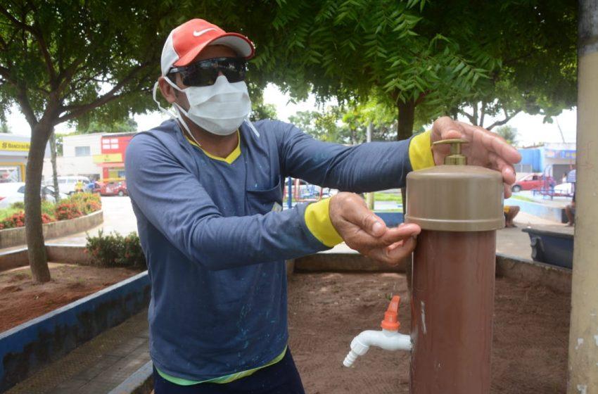 Prefeitura de São Gonçalo instala 'pias comunitárias' em locais de feiras livres