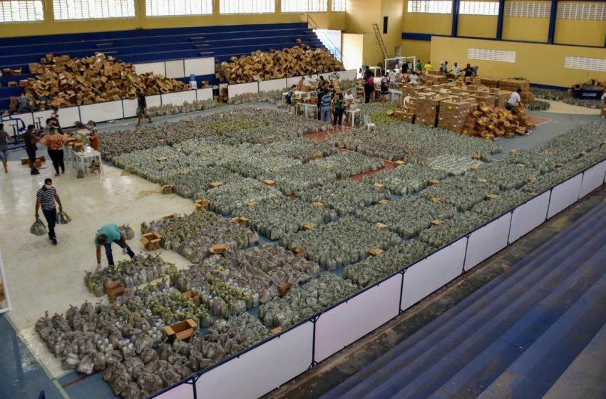 15 mil kits de higiene pessoal e limpeza serão distribuídos em São Gonçalo