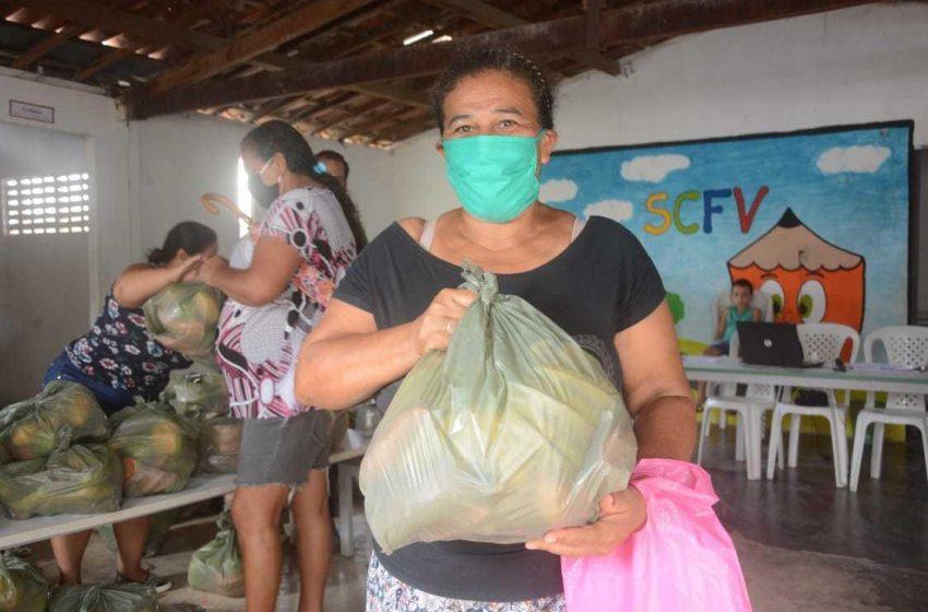 Prefeitura de São Gonçalo realiza mais uma etapa da entrega dos kits de frutas às famílias em em vulnerabilidade social