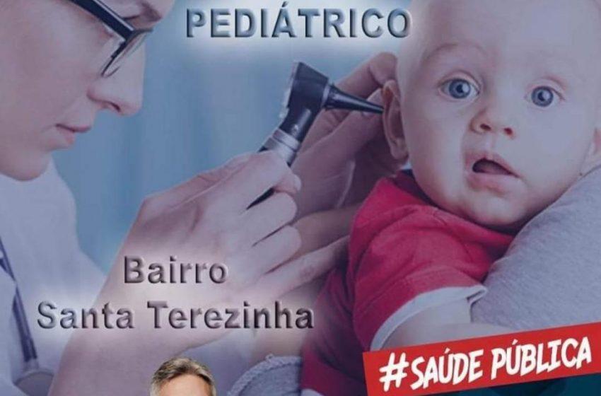 Centro Médico Pediátrico será inaugurado em São Gonçalo do Amarante