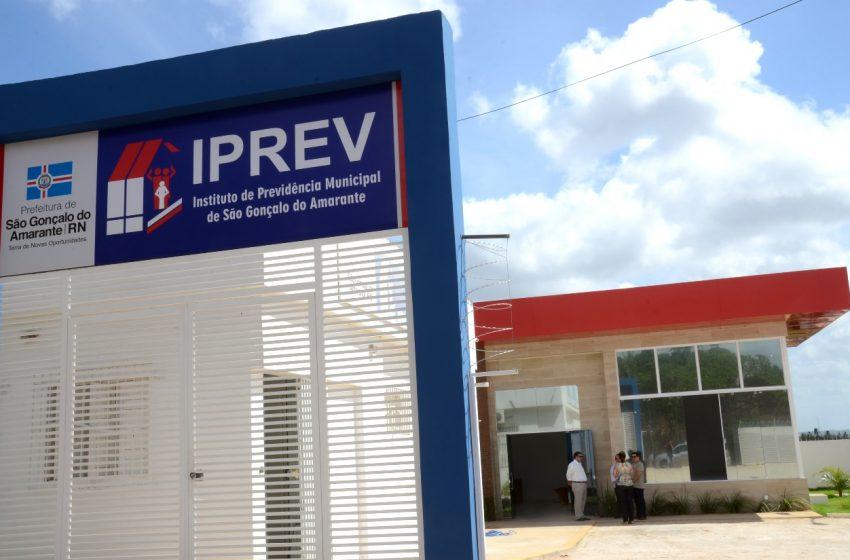 Iprev São Gonçalo do Amarante atinge melhor índice de situação previdenciária do RN
