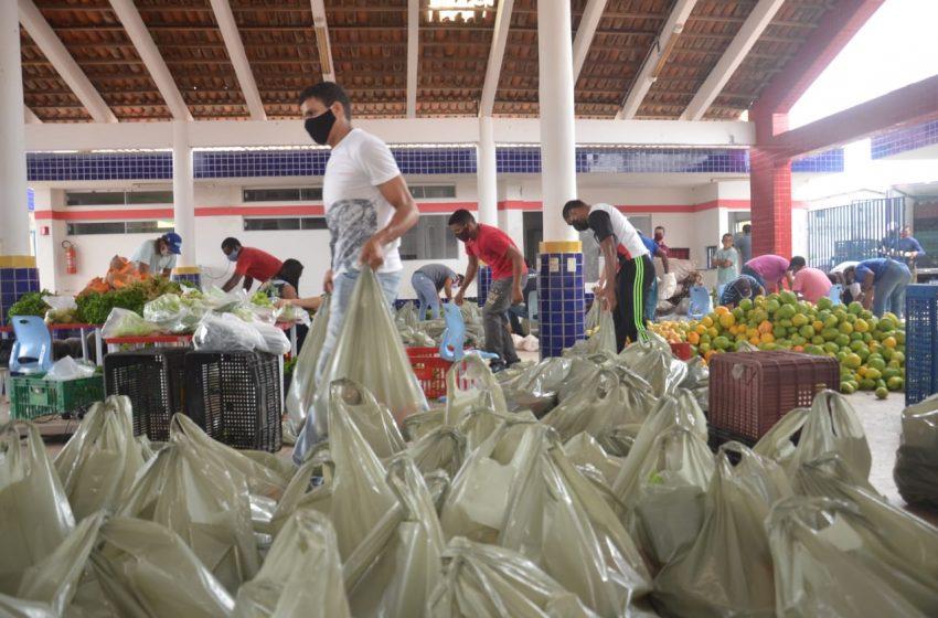 Prefeitura de São Gonçalo distribui mais 9 mil kg de frutas e verduras nas comunidades