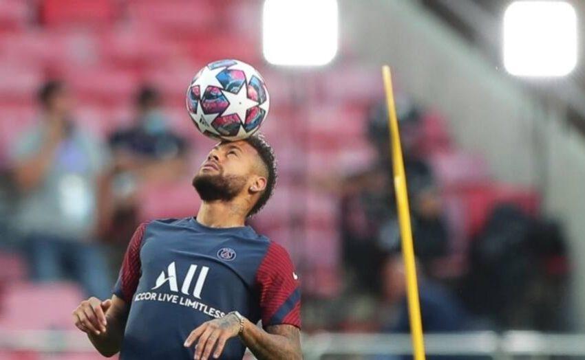 Recuperado da Covid-19, Neymar volta a treinar no Paris Saint-Germain