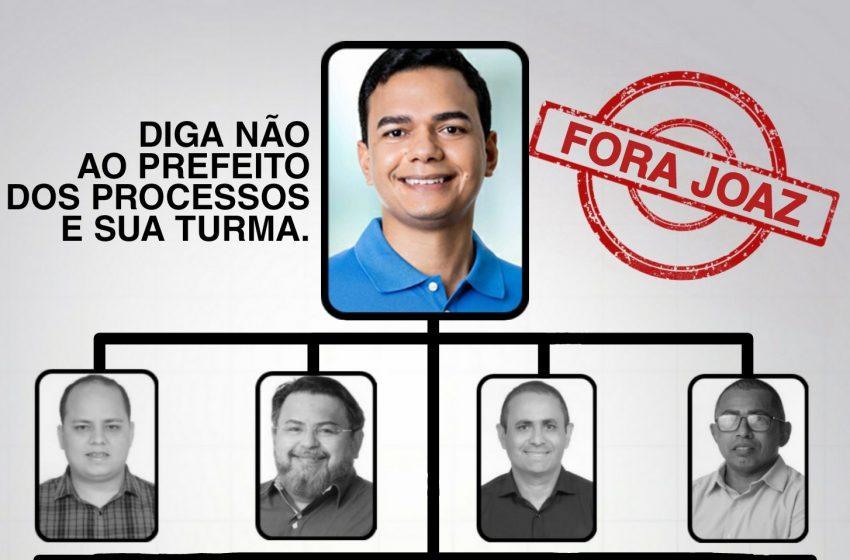 Conheça os candidatos a vereadores ligados a Joaz Oliveira em Extremoz