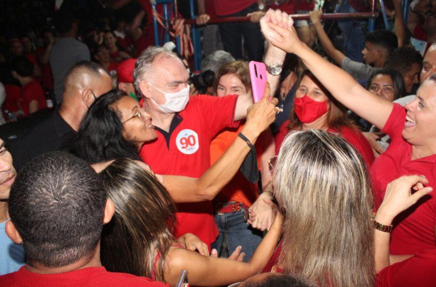 Paulinho é reeleito prefeito de São Gonçalo do Amarante com 59,4% dos votos; coligação fez 12 vereadores