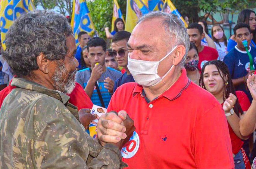 Mesmo após a grande vitória nas urnas, prefeito Paulo Emídio não para de trabalhar
