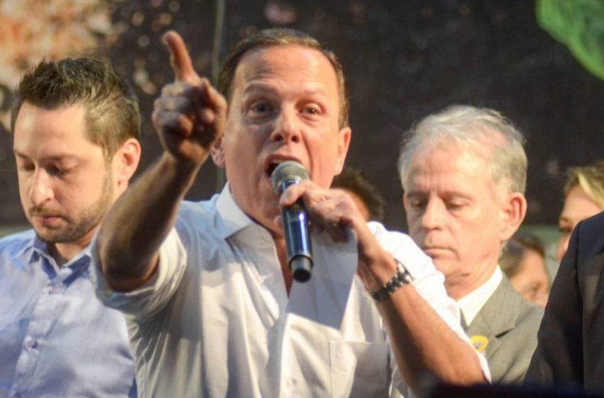 """Doria fala em """"genocídio"""", chama Bolsonaro de """"facínora"""" e pede reação do Brasil contra o presidente"""