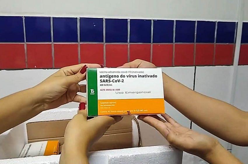 Vacina contra Covid-19 chega a São Gonçalo do Amarante e imunização vai começar amanhã (20)