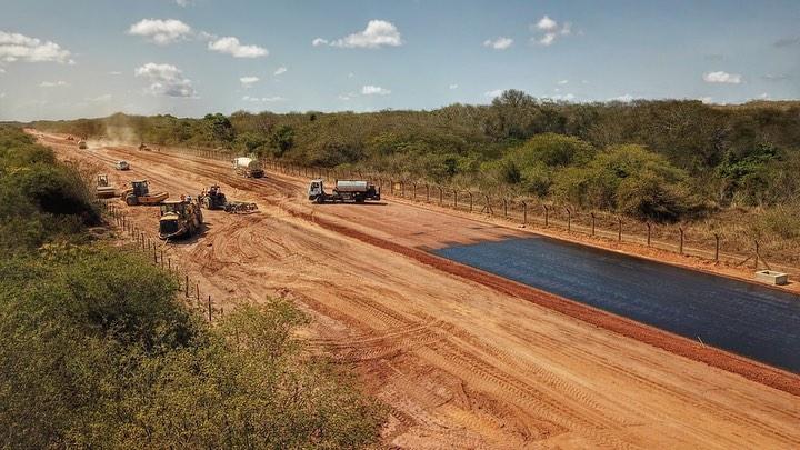 A estrada da Produção em São Gonçalo vai ficar pronta ainda neste primeiro semestre!