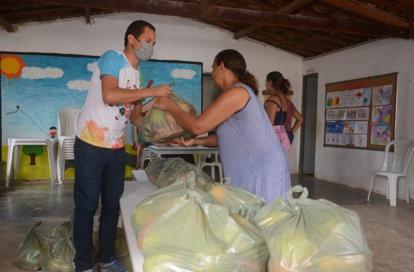 Prefeitura distribui kits de frutas e verduras nesta quarta-feira (24)