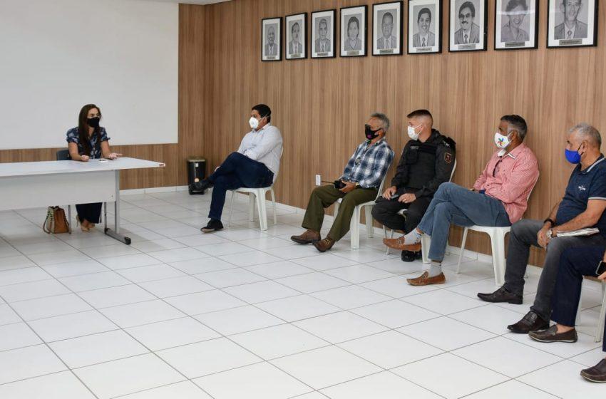 Novas medidas: forças de segurança se reúnem para discutir fiscalizações