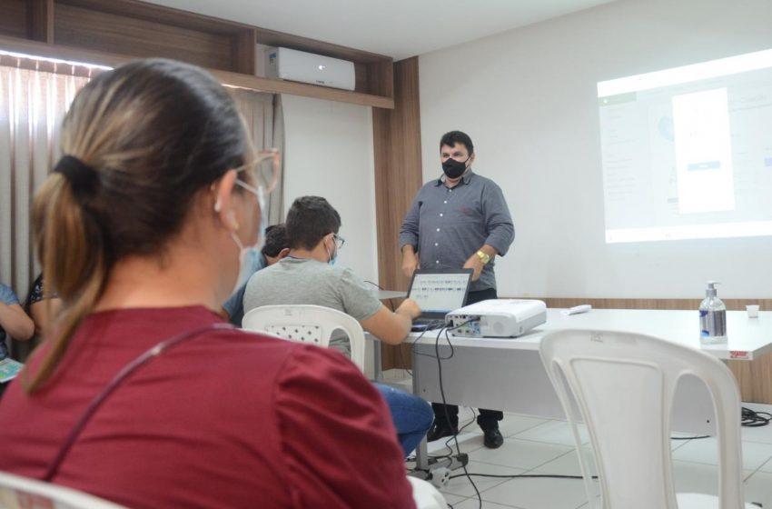 Gerentes de UBS participam de capacitação sobre sistema de regulação interno do município
