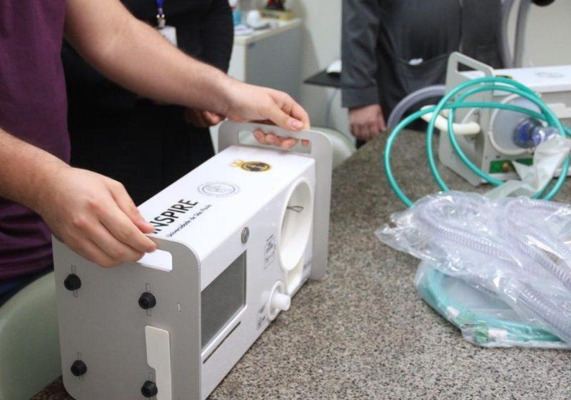 Hospital Giselda Trigueiro recebe novos respiradores