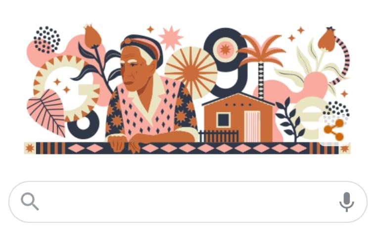 Google faz homenagem à Dona Militana; romanceira completaria 96 anos nesta sexta (19)