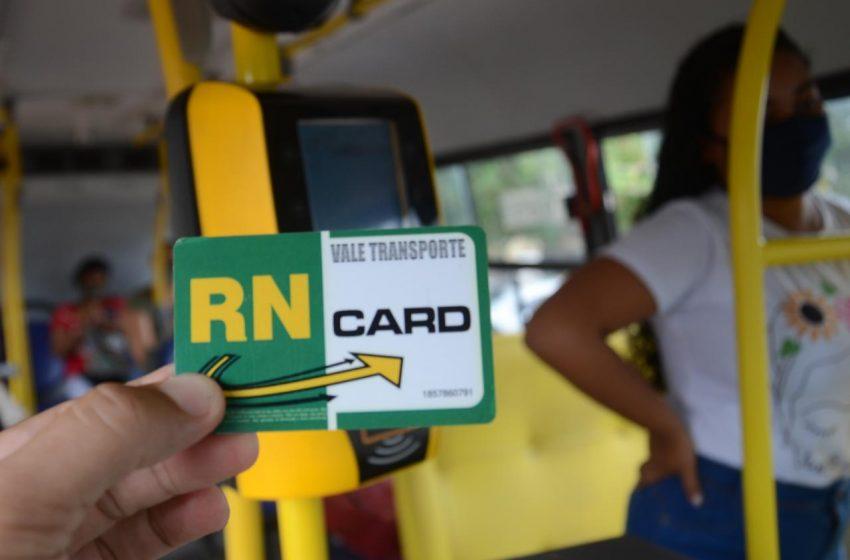 Plataforma de integração no transporte municipal será desativada; usuários devem fazer transferência com cartão do RNCard