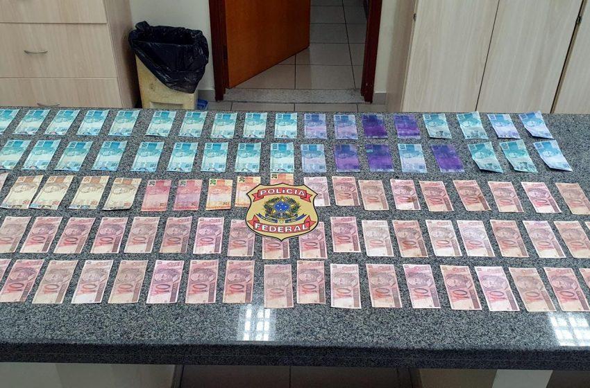 Em ações distintas, PF recupera objeto furtado da UFRN e apreende dinheiro falso em Natal