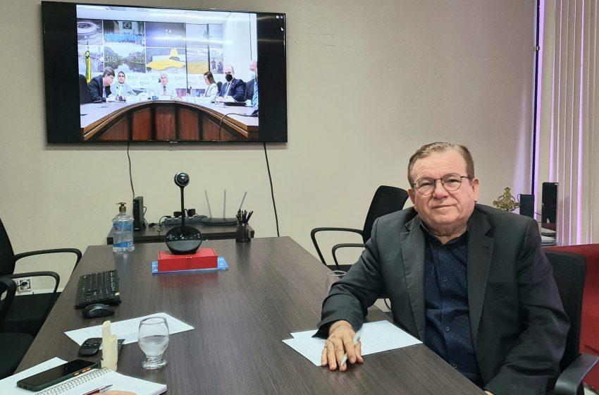 Jaime Calado Participou de audiência virtual com membros do Conselho Nacional de Secretários Estaduais
