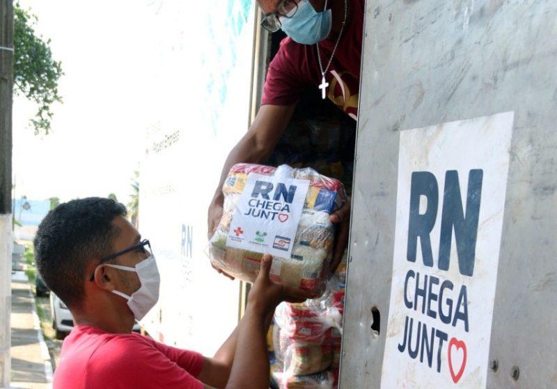 Governo entrega mais de 1.650 cestas básicas em Extremoz e Natal