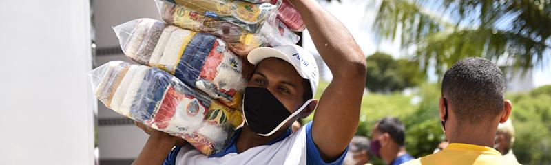 Assurn doa duas mil cestas básicas para o RN Chega Junto no Combate à Fome