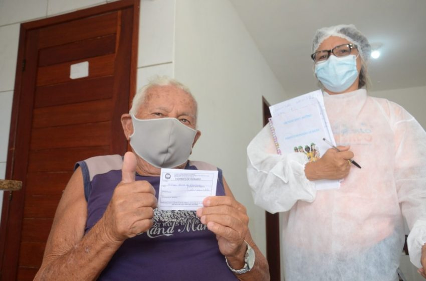 São Gonçalo inicia vacinação em idosos de 60 anos nesta segunda (26); 2ª dose a partir de 65 anos