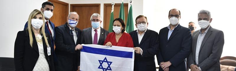 RN discute parcerias com o Estado de Israel