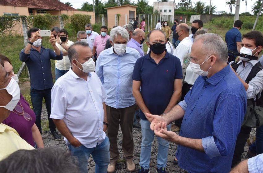 Em visita a São Gonçalo, ministro Rogério Marinho se compromete e buscar solução para obra parada do MCMV