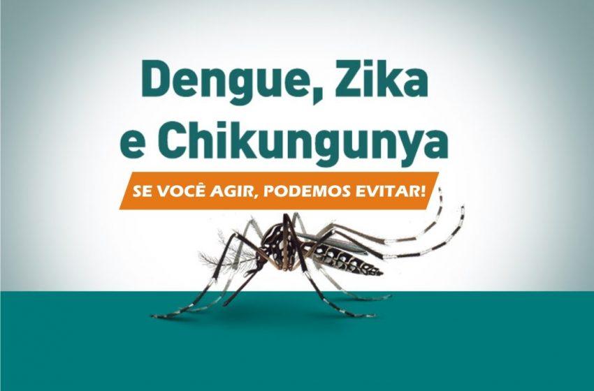 Sesap orienta população para prevenção à dengue, chikungunya e zika