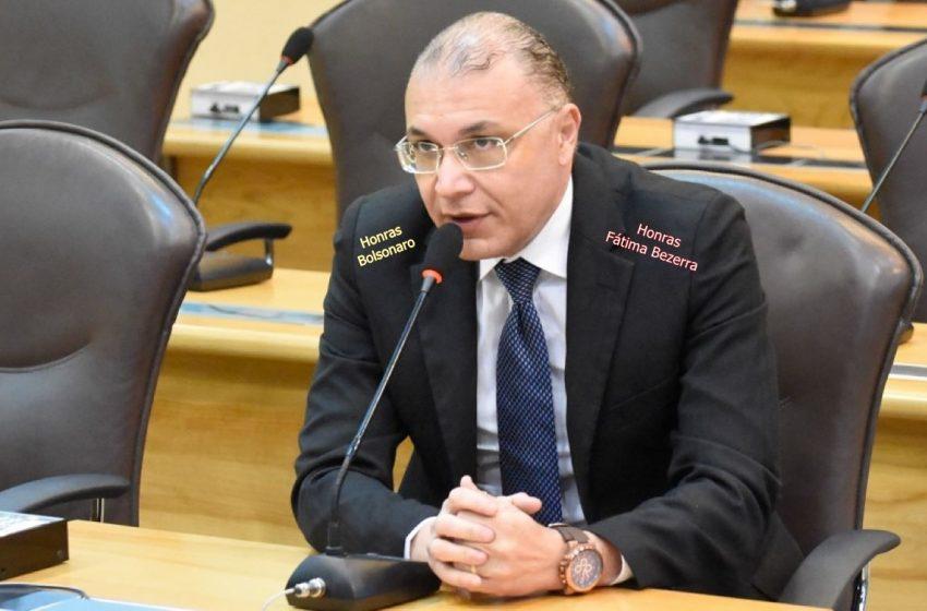 Deputado Albert Dickson está dividido entre Fatima Bezerra e Bolsonaro, vareite!