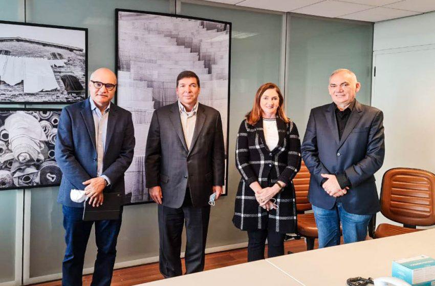 Paulinho Emídio cumpre agenda de trabalho em São Paulo com o novo presidente da FIESP e presidente da Coteminas